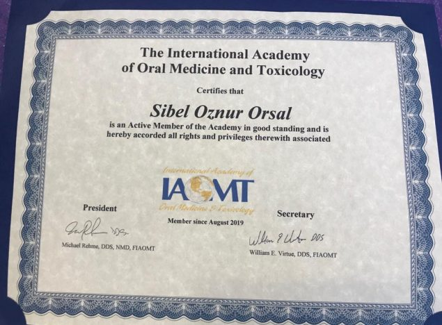 the international academy of oral medicine and toxicology